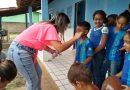 Secretaria de Saúde promove palestra educativa sobre saúde bucal nas escolas.
