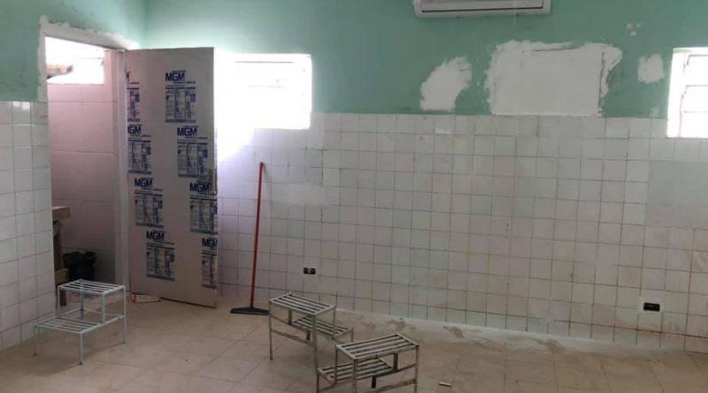 Unidade Básica de Saúde José do Rego Lages está Recebendo grande Reforma.